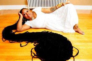 El peinado mas largo del mundo