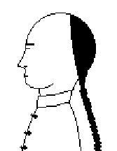 El pelo largo de los chinos