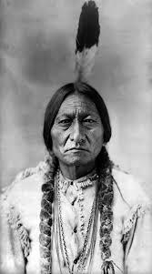 El pelo largo de los indios americanos