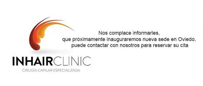 Nueva sede de InhairClinic en Oviedo