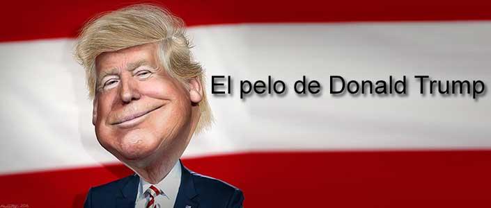 El pelo de Donald Trump