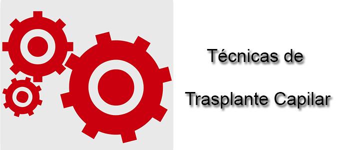 Técnicas de trasplante capilar