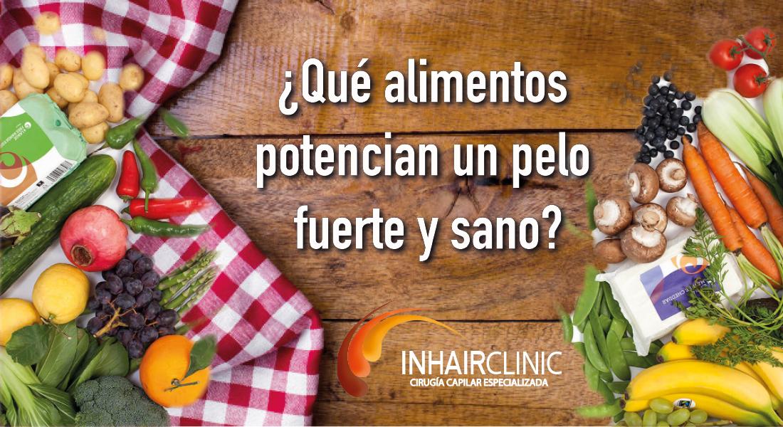 lista de alimentos que potencian la salud capilar